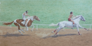 """Indian Relay Race - Pendleton Roundup"""