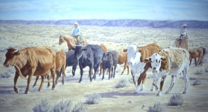 Range Cattle Roundup